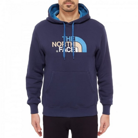 The NORTHFACE Blue Hoody Mens - Oboapparel Egypt