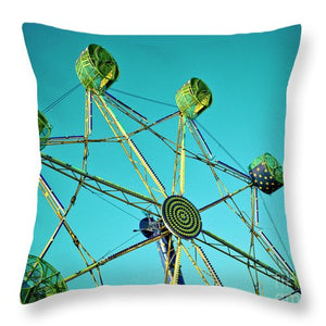 Amusement Ride  - Throw Pillow