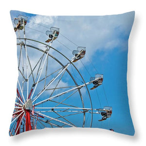 Carnival ferris wheel - Throw Pillow