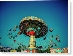 Carousel Swings - Canvas Print