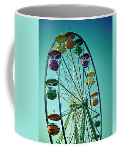 Colorful Ferris Wheel Photo  - Mug