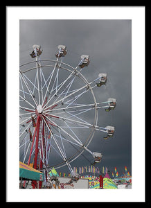 Ferris Wheel - Framed Print