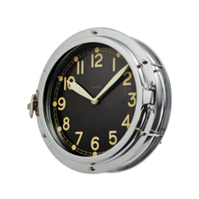 AIRSHIP WALL CLOCK ALUMINUM