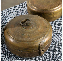 Antique Chapati Brass Ast'd Boxes