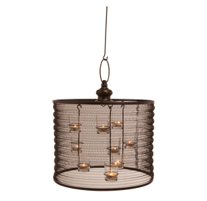 "16"" Aria Candle Chandelier-"
