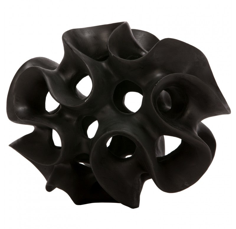 BioMorph- Kelp Sculpture, Black