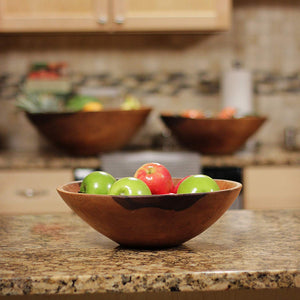 WOOD SALAD SERVING BOWL HIGUERILLA WOOD