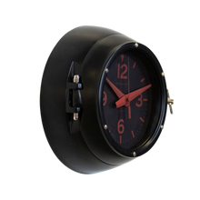 DEEP SEA WALL CLOCK BLACK