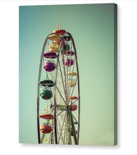 Ferris Wheel  - Canvas Print