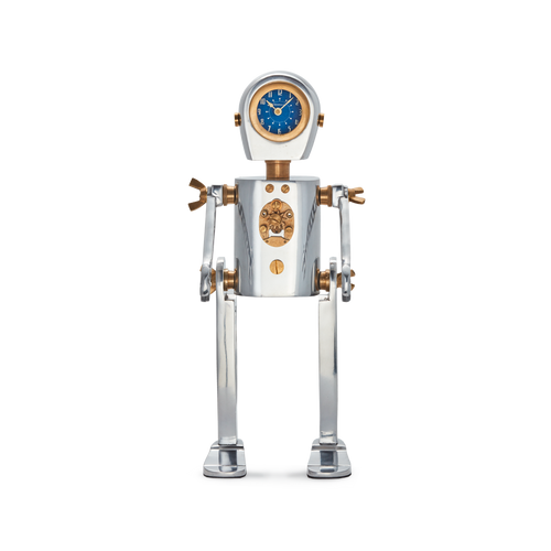 ROBOT TABLE CLOCK