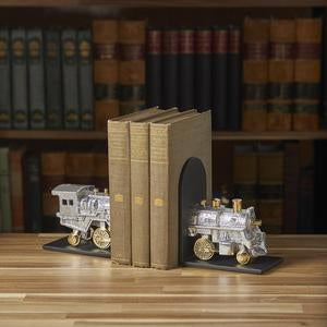 LOCOMOTIVE BOOKENDS