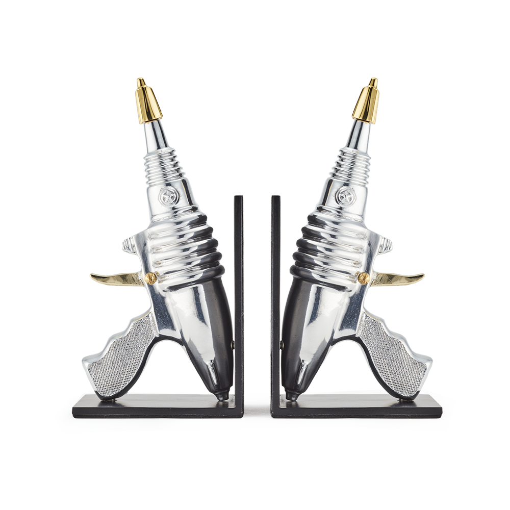 RAYGUN BOOKENDS