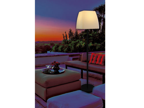 Rose Outdoor Floor Lamp