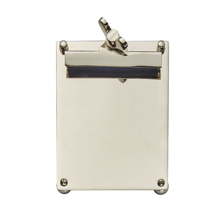 SCRIBNER NOTEPAD NICKEL SMALL