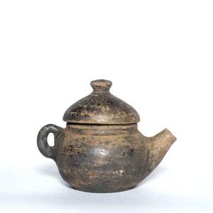 TEA KETTLE NATURAL CLAY POT
