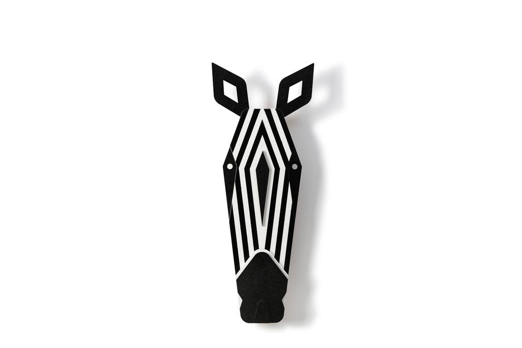 The Zebra Wooden Wall Art