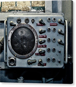 Uss Yorktown Aircraft Speaker - Canvas Print