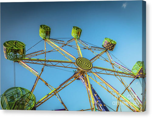 Amusement Ride  - Canvas Print