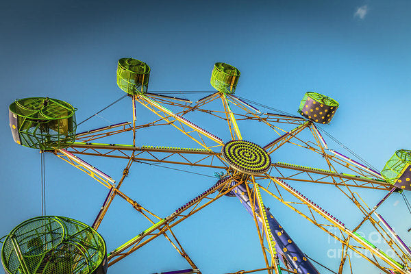 Amusement Ride  - Art Print