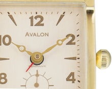AVALON ALARM CLOCK BRASS