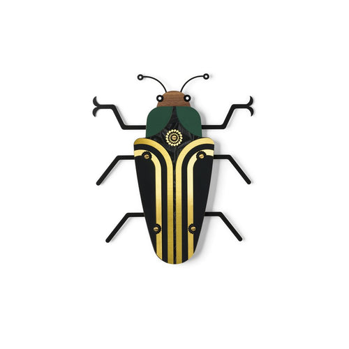 WALL ART COLORFUL WOODEN BUG