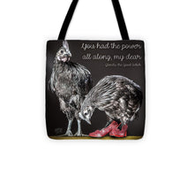 Glenda The Good Wtch  - Tote Bag