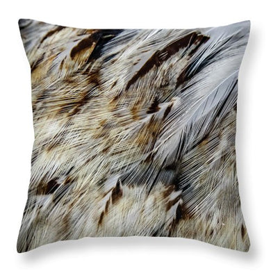 Continental Faverolle Salmon - Throw Pillow