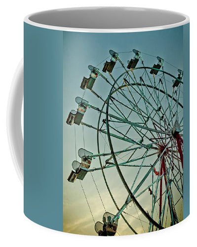 Ferris Wheel At Sunset - Mug