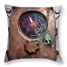 Uss Yorktown Full Flank - Throw Pillow