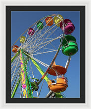 Giant Ferris Wheel 039 - Framed Print