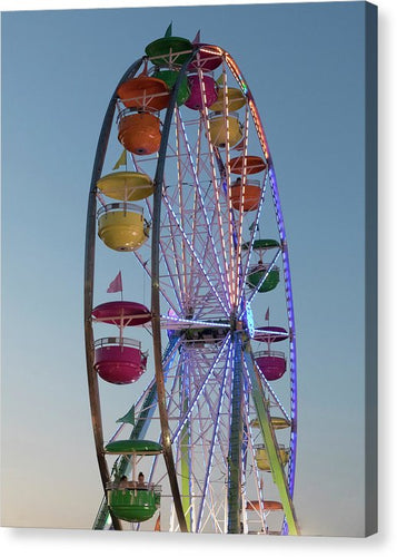 Giant Ferris Wheel 140 N - Canvas Print