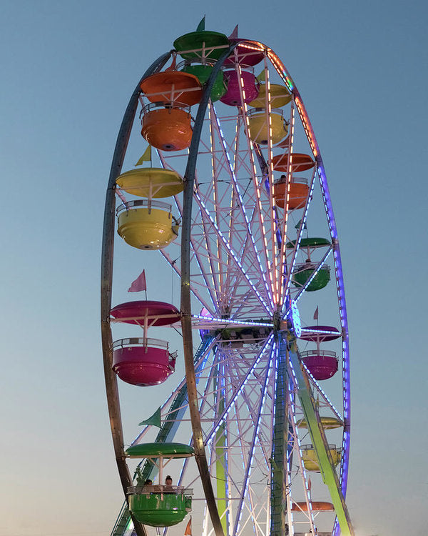 Giant Ferris Wheel 140 N - Art Print