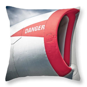 Jet Vent - Throw Pillow