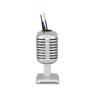 MICROPHONE PENCIL HOLDER ALUMINUM