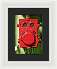 Uss Yorktown Red Box Face Two - Framed Print