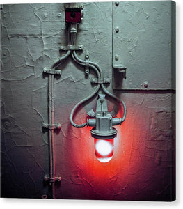 Red Light  Two - Canvas Print