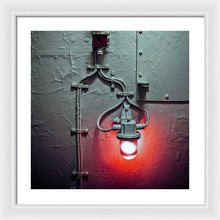Red Light  Two - Framed Print