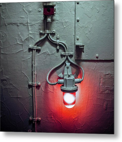 Red Light  Two - Metal Print