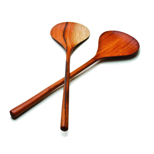 JOBILLO WOOD SALAD SERVERS