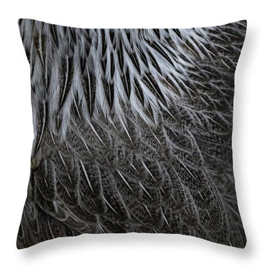 Silver Phoenix - Throw Pillow
