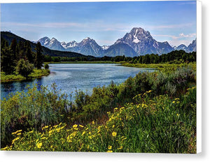 Snake River Elbow Bend  - Canvas Print