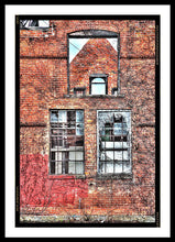 Urban Wall In Detroit - Framed Print