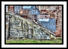 Urban Wall In Toledo - Framed Print