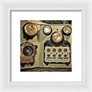Uss Yorktown Warning Bells - Framed Print