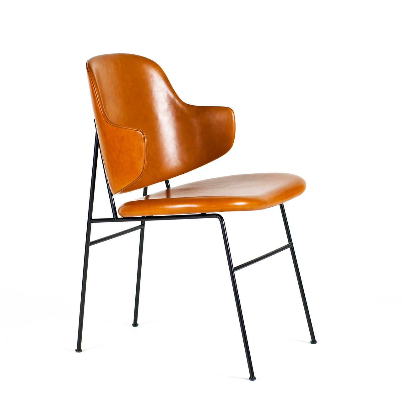 Penguin Dining Chair: Fully Upholstered