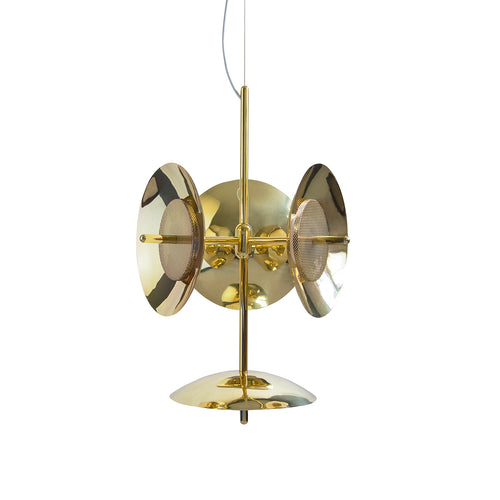 Signal Chandelier 3S + 1: Brass