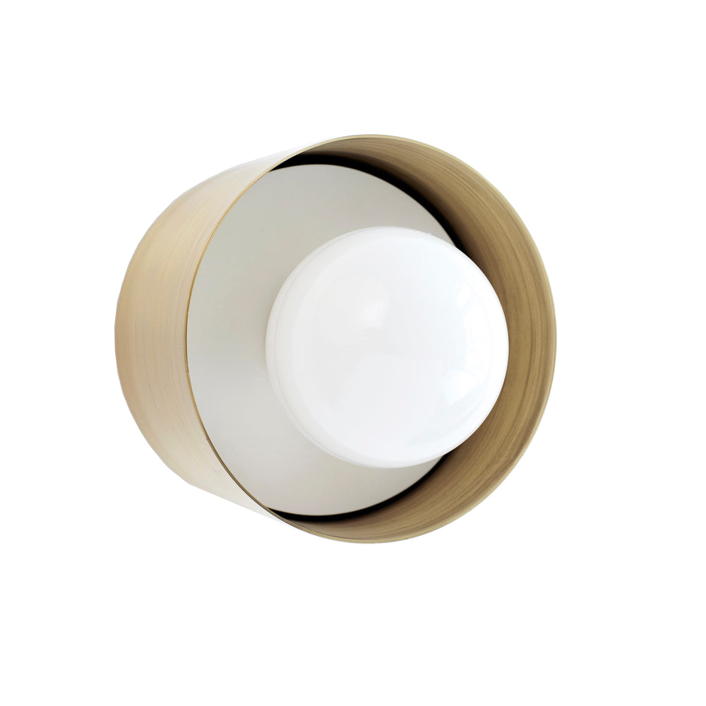 Spun Wall/Ceiling Sconce