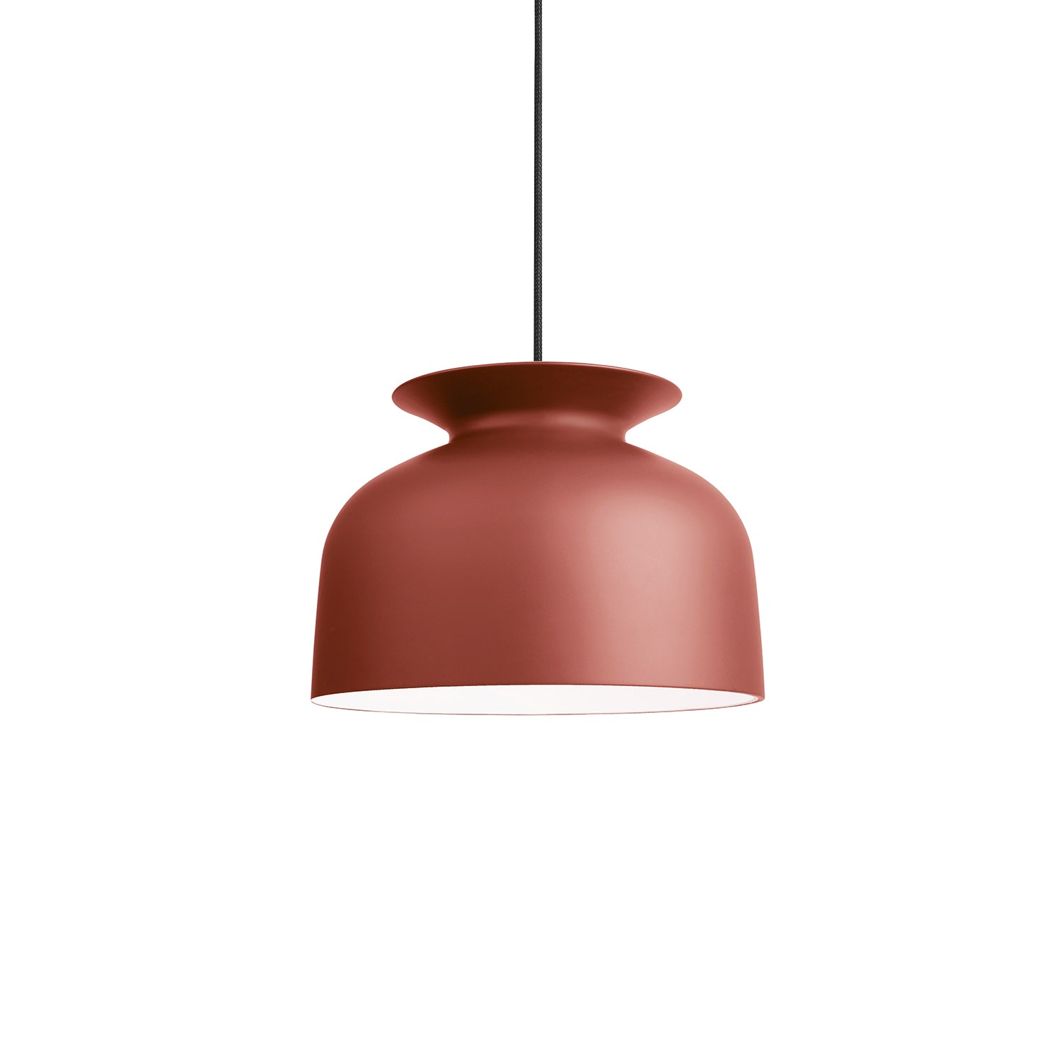 Ronde Pendant: Large +Redwood