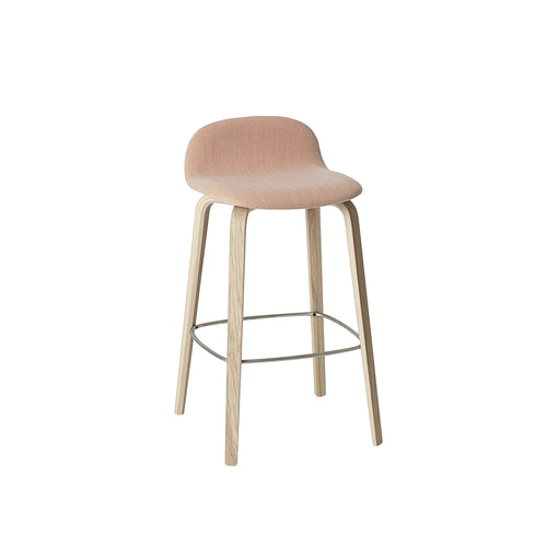 Visu Counter Stool: Upholstered