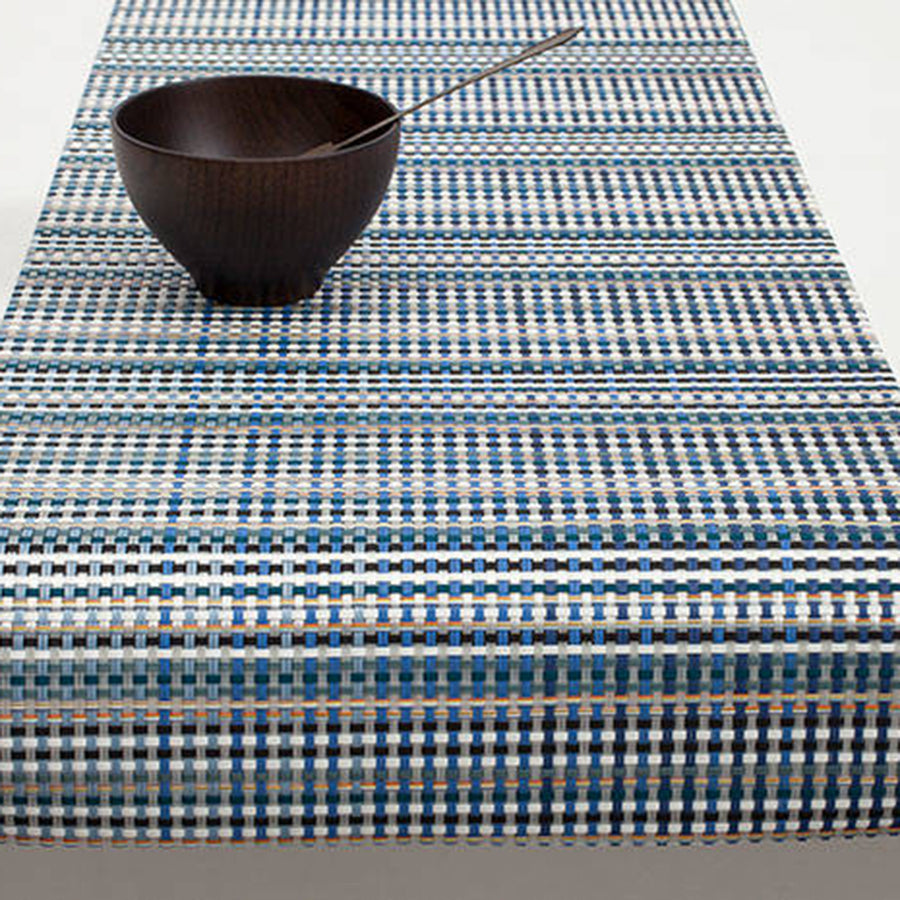 Grid Placemats + Table Runners: Runner + Blue